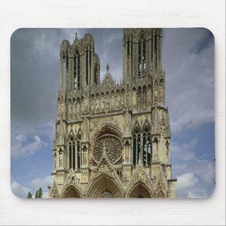 View of the west facade mouse mat