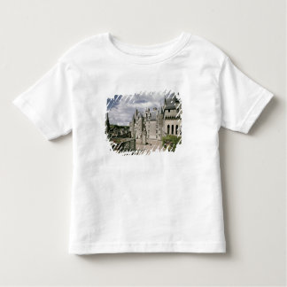View of the west facade of the restored toddler T-Shirt