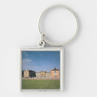 View of the west front, rebuilt 1746-61 Silver-Colored square key ring