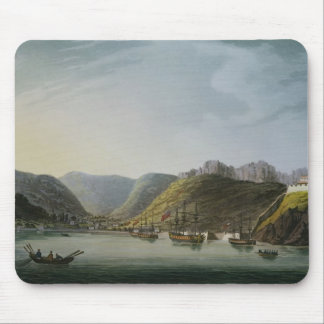 View of the West Side of Porto Ferraio Bay, Mouse Pads
