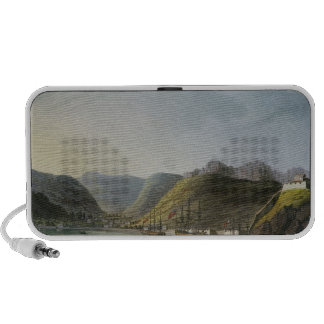 View of the West Side of Porto Ferraio Bay, Notebook Speakers