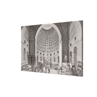 View of the Wheat Market and the Cupola Canvas Print