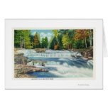 View of the Wild Cat River and Jackson Falls Card