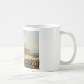 View of the Winter Palace from the Admiralty by Va Basic White Mug