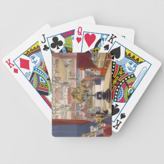 View of the Zollyverein Musical Instruments stand Bicycle Playing Cards