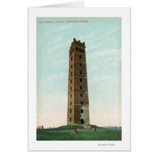 View of Tilton's Tower Greeting Card