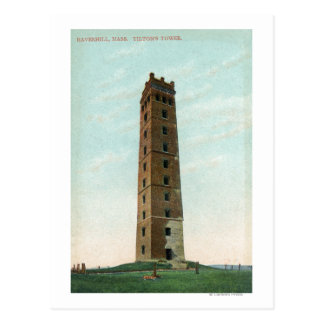 View of Tilton's Tower Postcard