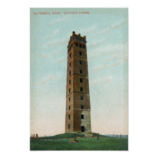 View of Tilton's Tower Poster