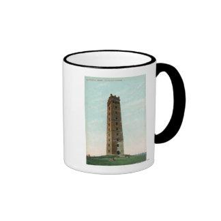 View of Tilton's Tower Ringer Mug