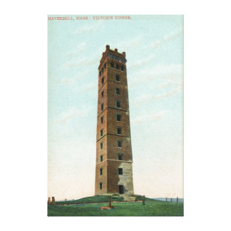 View of Tilton's Tower Stretched Canvas Print