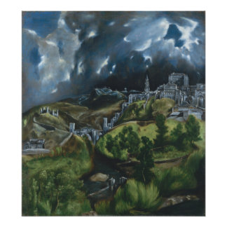 View of Toledo by El Greco Photograph