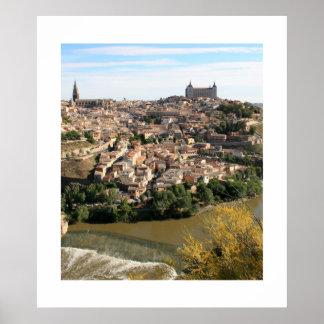 View of Toledo Posters