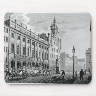 View of Town Hall, Exchange, Glasgow Mouse Mat