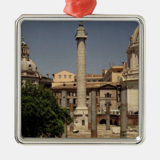 View of Trajan's Column, 113 AD Christmas Ornament