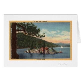 View of Treasure Island Card