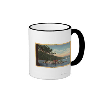 View of Treasure Island Coffee Mug