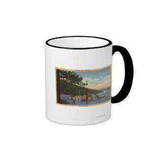 View of Treasure Island Ringer Mug