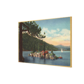 View of Treasure Island Stretched Canvas Prints
