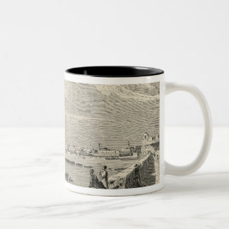 View of Tripoli Two-Tone Coffee Mug
