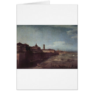 View of Turin from the Gardens of the Palazzo Greeting Card