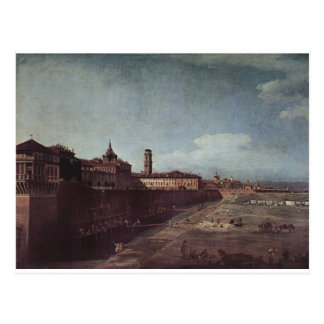 View of Turin from the Gardens of the Palazzo Postcard