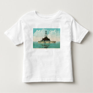 View of Twelfth Street Crib Lighthouse Shirts