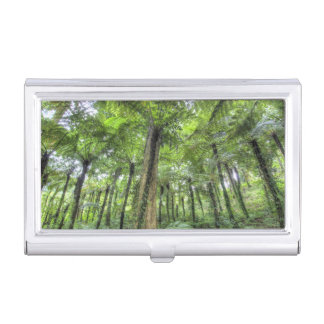 View of vegetation in Bali Botanical Gardens, Business Card Case