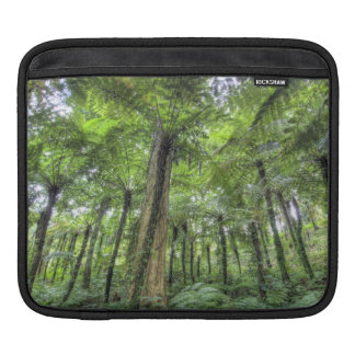 View of vegetation in Bali Botanical Gardens, iPad Sleeve