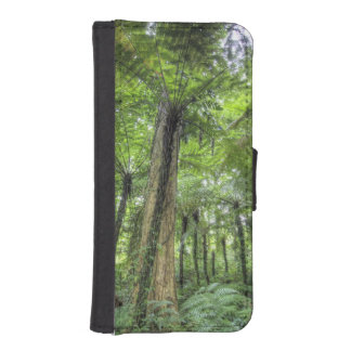 View of vegetation in Bali Botanical Gardens, iPhone SE/5/5s Wallet Case