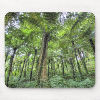 View of vegetation in Bali Botanical Gardens, Mouse Mat
