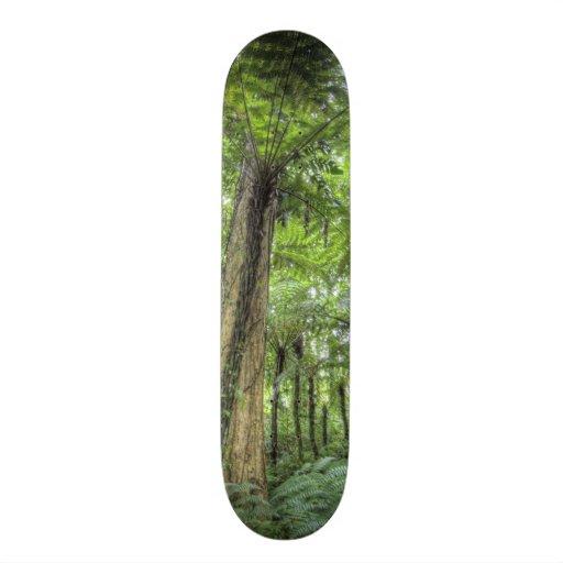View of vegetation in Bali Botanical Gardens, Skate Boards