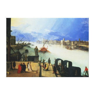 View of Venice 2 Canvas Print