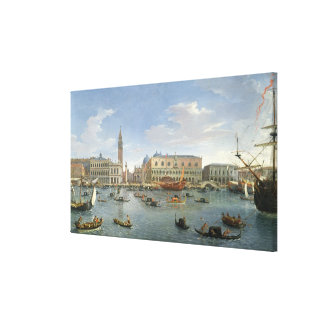 View of Venice from the Island of San Giorgio, 169 Canvas Print