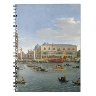 View of Venice from the Island of San Giorgio, 169 Notebook