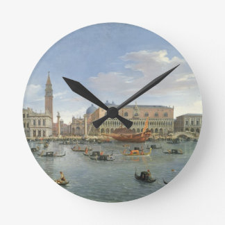 View of Venice from the Island of San Giorgio, 169 Round Clock