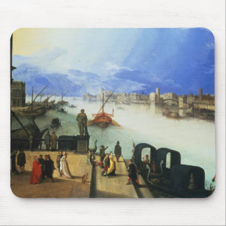View of Venice Mouse Mat