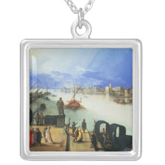 View of Venice Silver Plated Necklace
