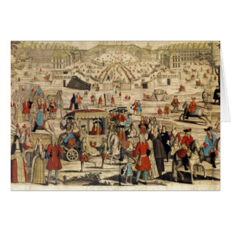 View of Versailles Card