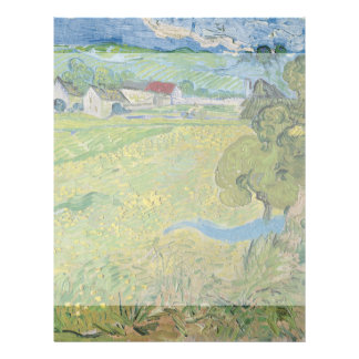 View of Vessenots Near Auvers by Vincent Van Gogh 21.5 Cm X 28 Cm Flyer