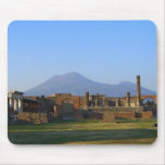 View Of Vesuvius Over The Ruins Of Pompeii Mouse Pad