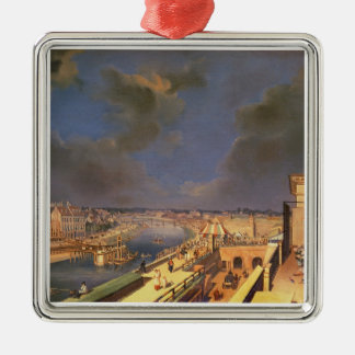 View of Vienna, 1819 (oil on canvas) Christmas Ornament