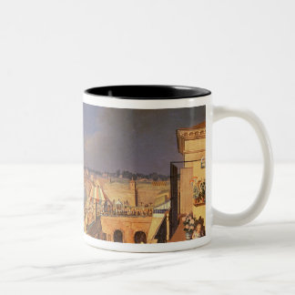View of Vienna, 1819 (oil on canvas) Mugs