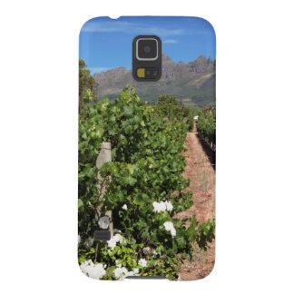 View Of Vineyards. Stellenbosch Galaxy S5 Cases