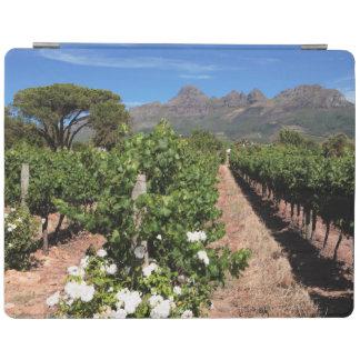 View Of Vineyards. Stellenbosch iPad Cover
