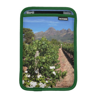View Of Vineyards. Stellenbosch iPad Mini Sleeve