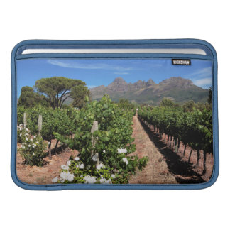 View Of Vineyards. Stellenbosch Sleeve For MacBook Air
