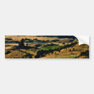 View Of Wanaka From Mt. Iron Bumper Stickers