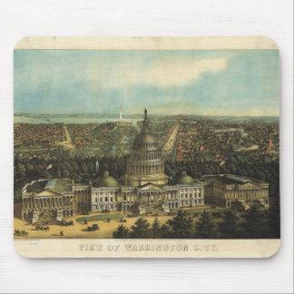 View of Washington City (1871) Mouse Pad