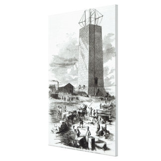 View of Washington Monument Canvas Print
