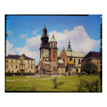View of Wawel Cathedral Print